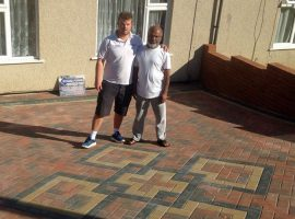 Stone Force Paving Happy Customer