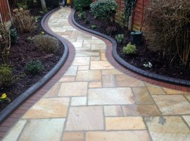 Stone Force Paving Path